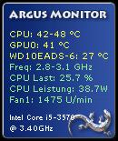 Argus Monitor Minianwendung