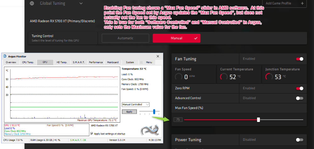 Enable 'Fan Tuning'