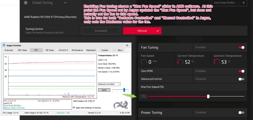 Enable 'Fan Tuning'