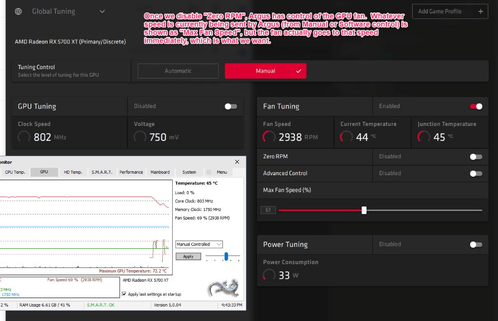 Disable 'Zero RPM'